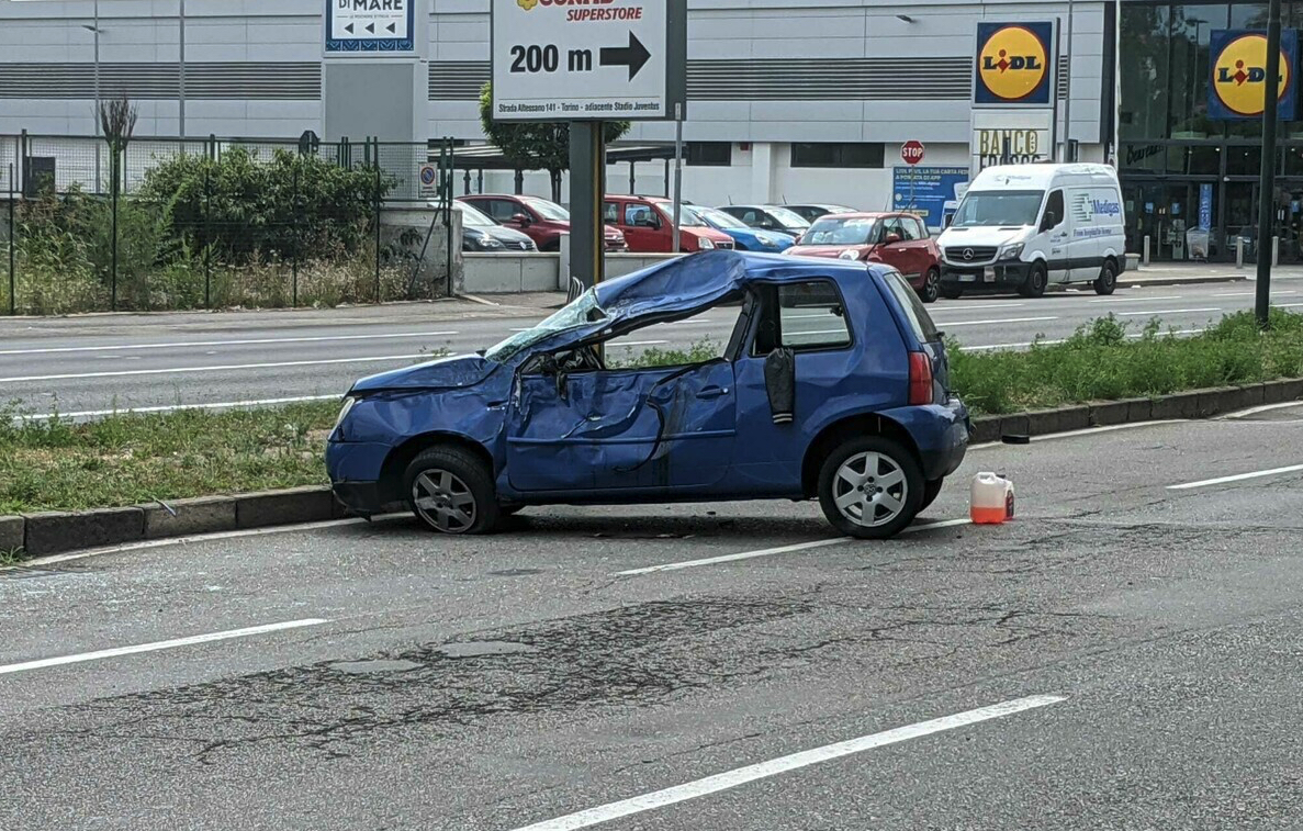 L'auto rubata
