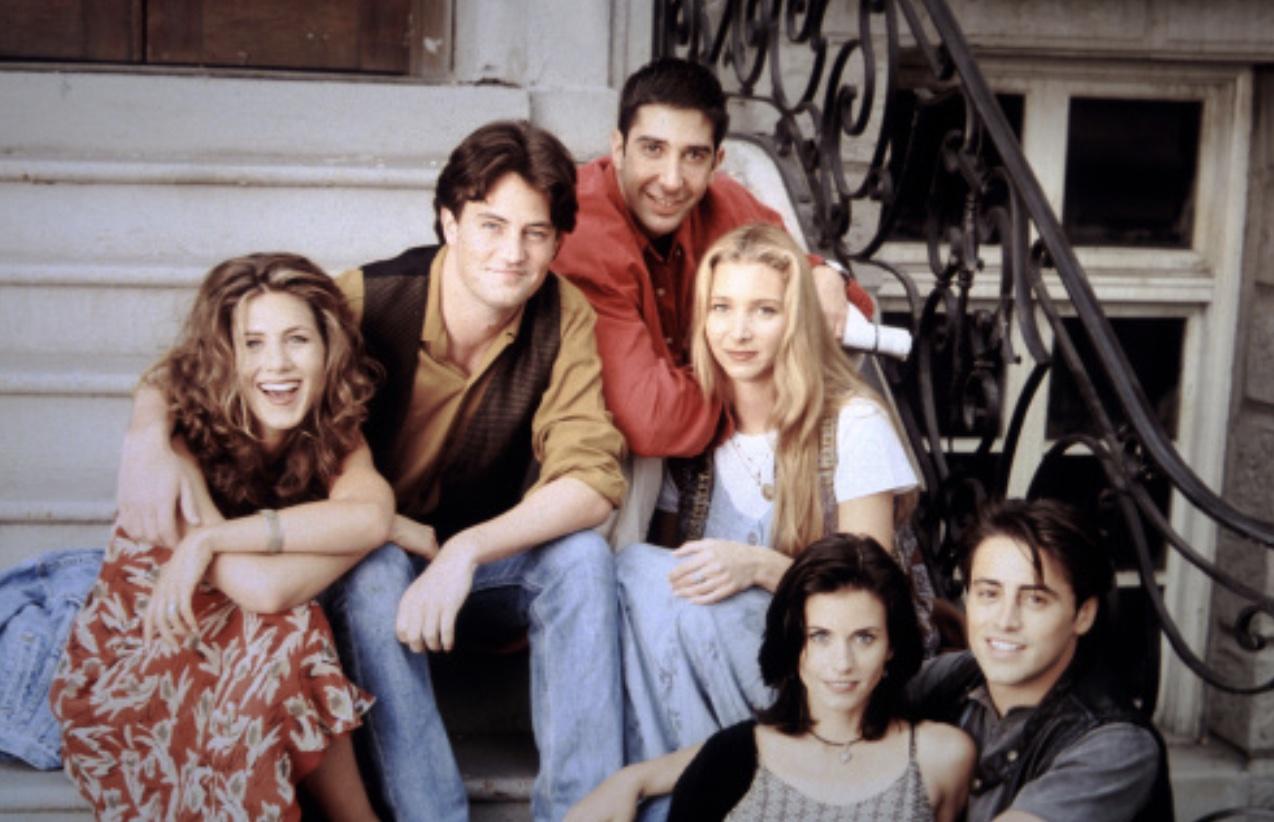 Il cast di Friend