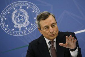 Draghi lancia la candidatura di Roma per l'Expo 2030