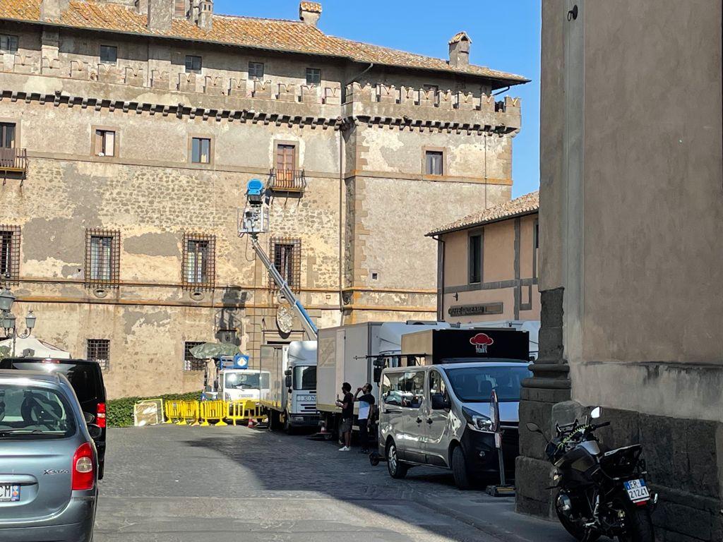 Il castello Ruspoli a Vignanello