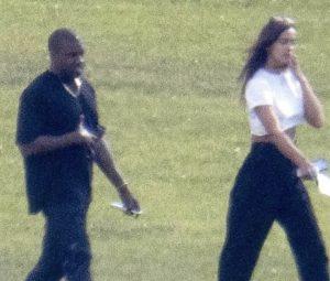 Kanye e Irina lo scorso giugno in provenza
