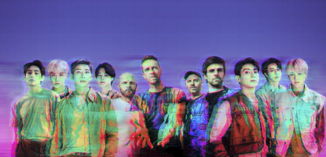 Coldplay e BTS