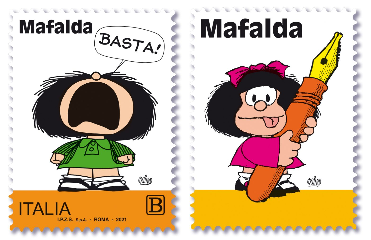 Poste Italiane omaggia Mafalda