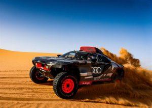 La sfida Audi nella Dakar 2022